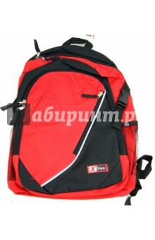 Рюкзак школьный X-line (XL14-153)Рюкзаки школьные<br>Рюкзак школьный.<br>Рюкзак предназначен для хранения и транспортировки личных вещей.<br>Возрастная категория: учащиеся средних и старших классов.<br>В рюкзаке: <br>- 1 большое отделение на молнии<br>- 1 маленькое отделение на молнии<br>- накладной карман на молнии <br>- 2 накладных сетчатых кармана по бокам<br>Размер: 38х28х11см.<br>Длина лямок регулируется.<br>Состав: полиэстер; элементы отделки - пластик, металл.<br>Сделано в Китае.<br>