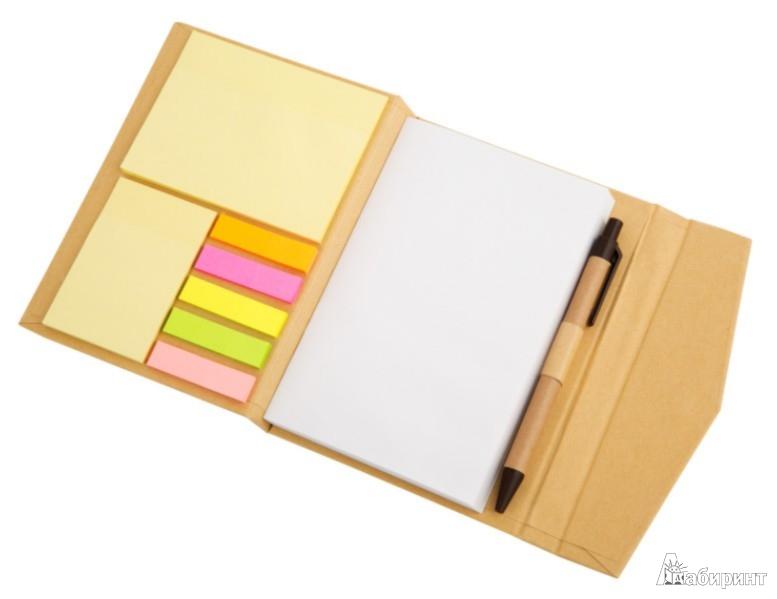 Иллюстрация 1 из 14 для Блокнот на магнитной застежке и шариковая ручка (070207) | Лабиринт - канцтовы. Источник: Лабиринт