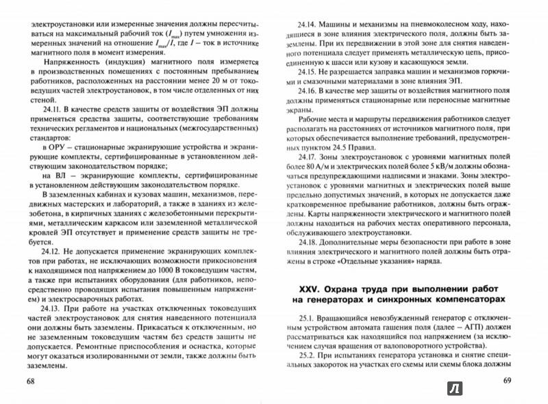Иллюстрация 1 из 6 для Правила по охране труда при эксплуатации электроустановок | Лабиринт - книги. Источник: Лабиринт