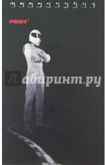 Блокнот А6. 40 листов. Top Gear. Евроспираль (TG14-NBS640)