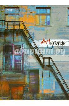 """Тетрадь """"Art Grunge"""", А4, 80 листов, клетка, твердая обложка (6804145009)"""