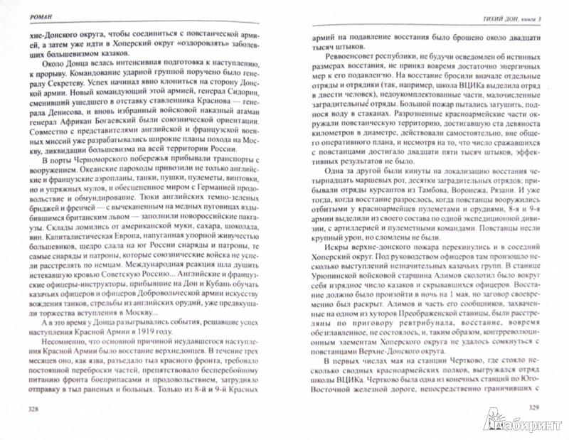 Иллюстрация 1 из 17 для Тихий Дон. Том 2. Книги 3 и 4 - Михаил Шолохов   Лабиринт - книги. Источник: Лабиринт