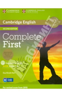 Complete First. Students Book with answers (+3CD)Английский язык<br>Complete First Second edition is an official preparation course for Cambridge English: First, also known as First Certificate in English (FCE). It combines the very best in contemporary classroom practice with first-hand knowledge of the challenges students face. The information, practice and advice contained in the course ensure that they are fully prepared for all parts of the test, with strategies and skills to maximise their score.<br>Informed by Cambridge s unique searchable database of real exam candidates  answer papers, the Cambridge English Corpus, Complete First Second edition trains students to avoid common exam mistakes, guaranteeing teachers and students the most authoritative preparation for Cambridge English: First.<br>Complete First Second edition Student s Book with answers features:<br>- topic-based units, providing language input and practice for each part of the exam papers.<br>- regular  Exam information  and  Exam advice  boxes which explain the requirements of exam tasks.<br>- Speaking and Writing references which focus on key skills required for the exam.<br>- targeted vocabulary, drawing on research insights from English Profile, to focus on what students need to learn for the exam at B2-level.<br>- all new Pronunciation sections to help students develop their speaking skills.<br>- a CD-ROM with grammar and vocabulary exercises for motivating, flexible study.<br>- complete Cambridge English: First practice tests online for teachers to access.<br>System requirements<br>Windows<br>Intel Pentium 4 2GHz or faster<br>Microsoft Windows XP (SP3), Vista (SP2), Windows 7, Windows 8<br>Minimum 1GB RAM<br>Minimum 750MB of hard drive space<br>Adobe Flash Player 10.3.183.7 or later<br>Mac OS<br>Intel Core TM Duo 1.83GHz or faster<br>Mac OSX 10.5 or later<br>Minimum 1GB RAM<br>Minimum 750 of hard drive space<br>Adobe Flash Player 10.3.183.7 or later<br>2nd Edition.<br>