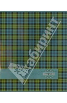 """Тетрадь общая """"Шотландка"""" (48 листов, клетка, в ассортименте) (29575)"""
