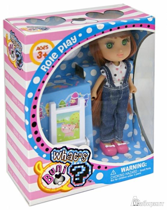 Иллюстрация 1 из 5 для Кукла, 16,5 см, с акссесуарами, 3 вида (65007) | Лабиринт - игрушки. Источник: Лабиринт