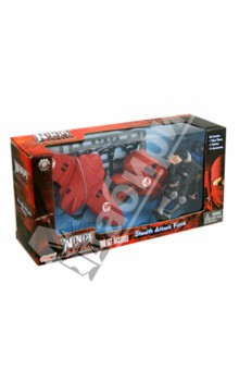 "Фигурка ""Ninja Battle"" 10,2 см, с аксессуарами, 3 вида (63587) Manley"