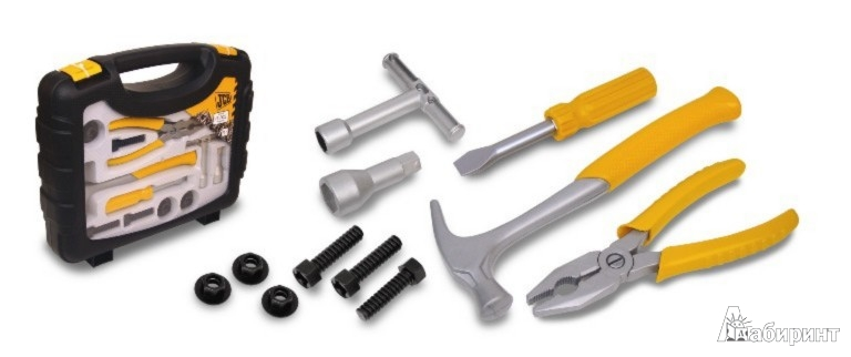 Иллюстрация 1 из 2 для Набор инструментов в чемоданчике JBS (1415551.00)   Лабиринт - игрушки. Источник: Лабиринт
