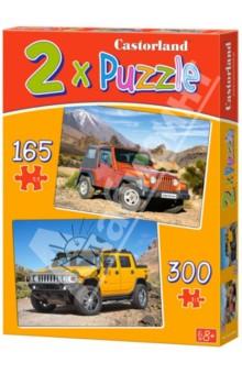 Puzzle Автомобили 2 в 1 (B-021086)Наборы пазлов<br>В наборе 2 картинки.<br>Количество элементов: 165 и 300<br>Правила игры: вскрыть упаковку и собрать игру по картинке.<br>Размер собранной картинки: 32х23 см.<br>Материал: картон<br>Не давать детям до 3-х лет из-за наличия мелких деталей.<br>Для детей от 8-ми лет.<br>Упаковка: картонная коробка<br>Сделано в Польше.<br>