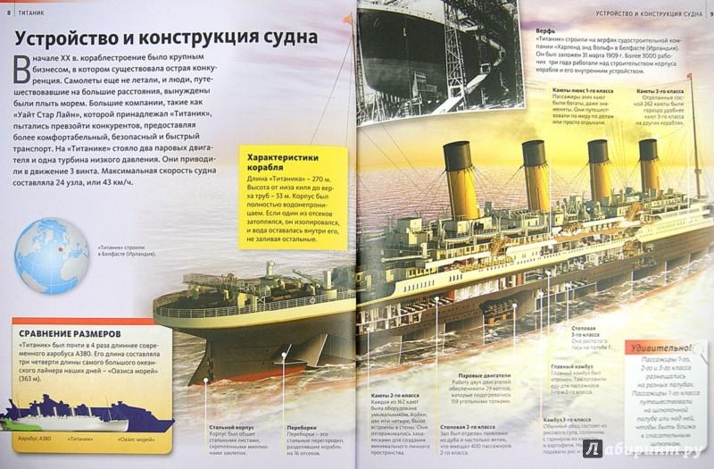 Иллюстрация 1 из 9 для Титаник   Лабиринт - книги. Источник: Лабиринт