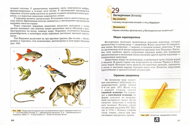 Иллюстрация 1 из 11 для Биология. 7 класс. Учебник. ФГОС - Константинов, Бабенко, Кучменко | Лабиринт - книги. Источник: Лабиринт