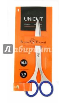 Ножницы цельнометаллические,16.5 см, UNICUT (60-0002) Альт