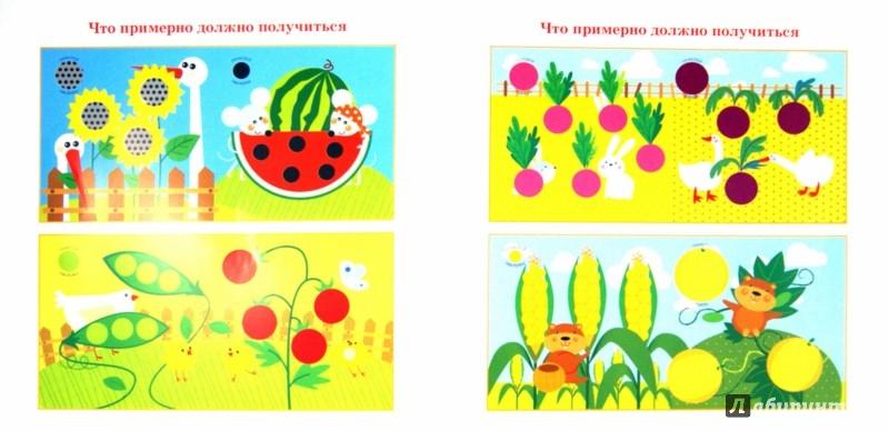 Иллюстрация 1 из 14 для Огород. Подбери и наклей кружочки | Лабиринт - книги. Источник: Лабиринт