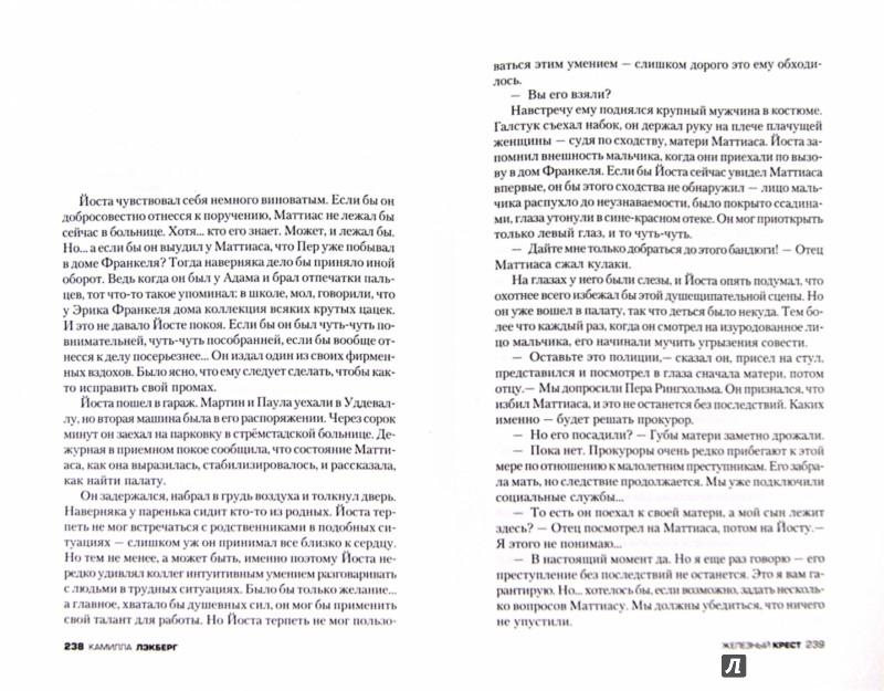 Иллюстрация 1 из 17 для Железный крест - Камилла Лэкберг | Лабиринт - книги. Источник: Лабиринт