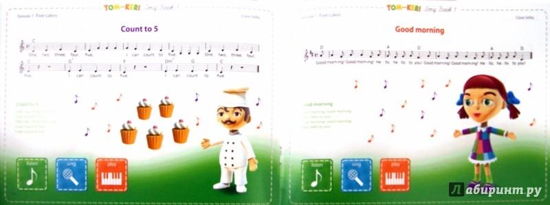 Иллюстрация 1 из 6 для Том и Кери. Сборник песенок 1 (+2CD) - Клэр Селби | Лабиринт - аудио. Источник: Лабиринт