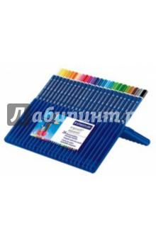 Карандаши акварельные трехгранные Ergosoft (24 цвета) STAEDTLER