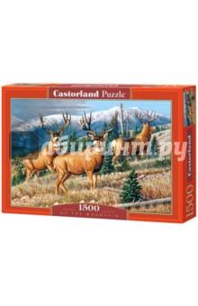 """Puzzle-1500 """"Олени"""" (C-151264)"""