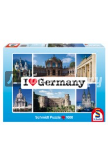 "Пазл-1000 ""Я люблю Германию"" (59280) Schmidt"