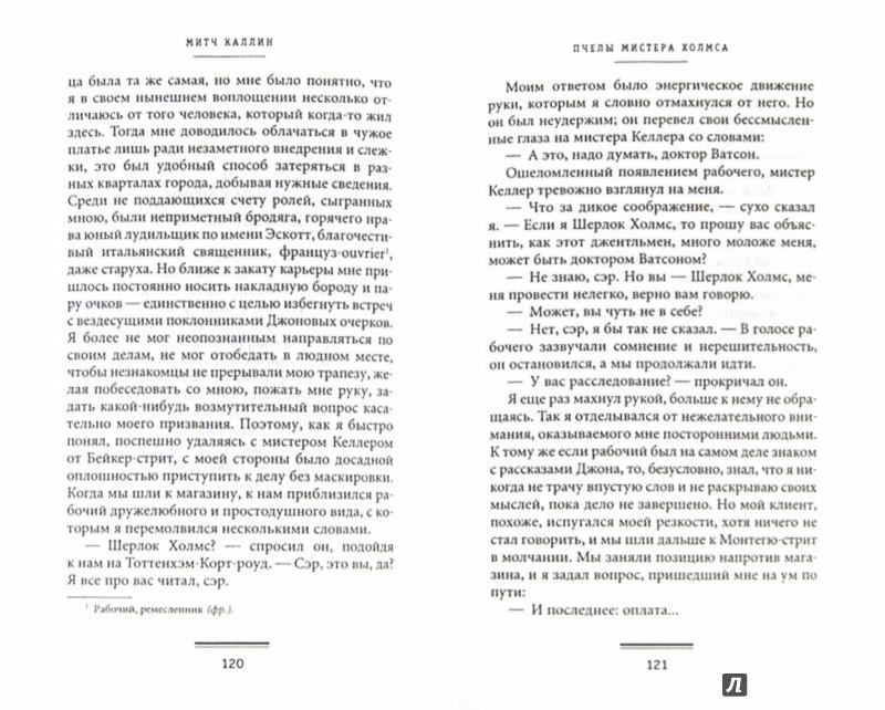 Иллюстрация 1 из 6 для Пчелы мистера Холмса - Митч Каллин | Лабиринт - книги. Источник: Лабиринт