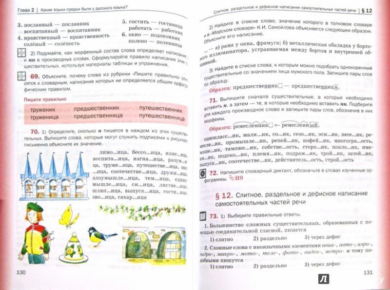 Иллюстрация 1 из 12 для Русский язык. 7 класс. Учебник с приложением. ФГОС (+CD) - Шмелев, Савчук, Флоренская, Шмелева | Лабиринт - книги. Источник: Лабиринт