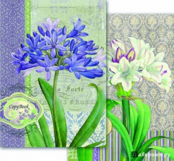 Иллюстрация 1 из 5 для Тетрадь - перевертыш. 80 листов. Цветы. А4 (36153-5) | Лабиринт - канцтовы. Источник: Лабиринт