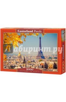 """Puzzle-1000 """"Осень в Париже"""" (C-103089)"""