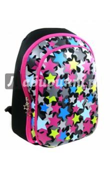 Рюкзак школьный STAR (830662)Ранцы и рюкзаки для начальной школы<br>Рюкзак школьный.<br>Предназначен для хранения и переноски.<br>Размер 39х29х12 см. <br>-2 больших отделения на молнии с внутренними карманами.<br>Ткань устойчива к выгоранию, обладает водоотталкивающими и морозоустойчивыми свойствами.<br>Облегченный вес рюкзака.<br>Наличие множества функциональных карманов, в том числе и для ноутбука.<br>Рюкзак оснащен специальным дном с ножками.<br>Оптимально разработанные размеры рюкзака позволяют ребенку разместить все необходимые тетради и учебники для школы и внеклассных занятий.<br>Для удобства и комфорта на спинке и лямках рюкзака используются эргономичные смягчающие подушечки с вентиляционными отверстиями. Наличие поясничного валика (расположен в нижней части спинки) - именно на него при правильном ношении рюкзака приходится основная нагрузка.<br>В целях обеспечения безопасности рюкзак оснащен световозвращающими элементами - это делает ребенка более заметным на дороге в темное время суток, (элементы видны на расстоянии до 100 метров)<br>Специальная жесткая конструкция спинки рюкзака оптимально распределяет нагрузку на позвоночник, способствуя формированию правильной осанки.<br>Состав: полиэстер, сталь, синтетический каучук, этилвинилацетат<br>Сделано в Китае.<br>