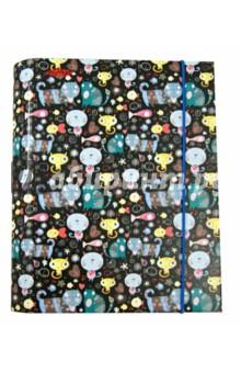 Тетрадь на кольцах. Aquarelas. Marker. А5, 150 листов (М-640515С)