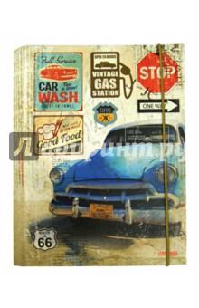 Тетрадь на кольцах. Retro Cars. Marker. А5, 120 листов (М-610512С) Виктория Арте