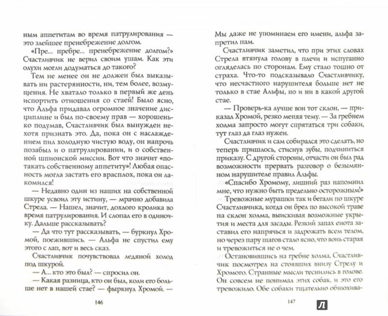 Иллюстрация 1 из 14 для Хроники стаи. Тайный враг - Эрин Хантер   Лабиринт - книги. Источник: Лабиринт