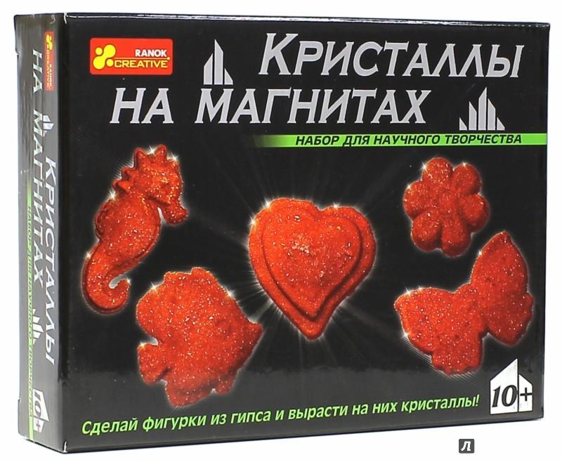 Иллюстрация 1 из 11 для Кристаллы на магнитах (красные) (12126002Р) | Лабиринт - игрушки. Источник: Лабиринт