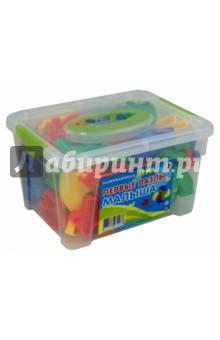 Первые пазлы малыша. КонтейнерДругие игрушки для малышей<br>Развивающая игра Первые пазлы малыша.<br>Изготовлено из пластмассы.<br>Для детей от 3-х лет.<br>Произведено в Китае.<br>