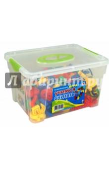 Учимся считать. КонтейнерДругие игрушки для малышей<br>Развивающая игра Учимся считать в контейнере.<br>Изготовлено из пластмассы.<br>Для детей от 3-х лет.<br>Произведено в Китае.<br>