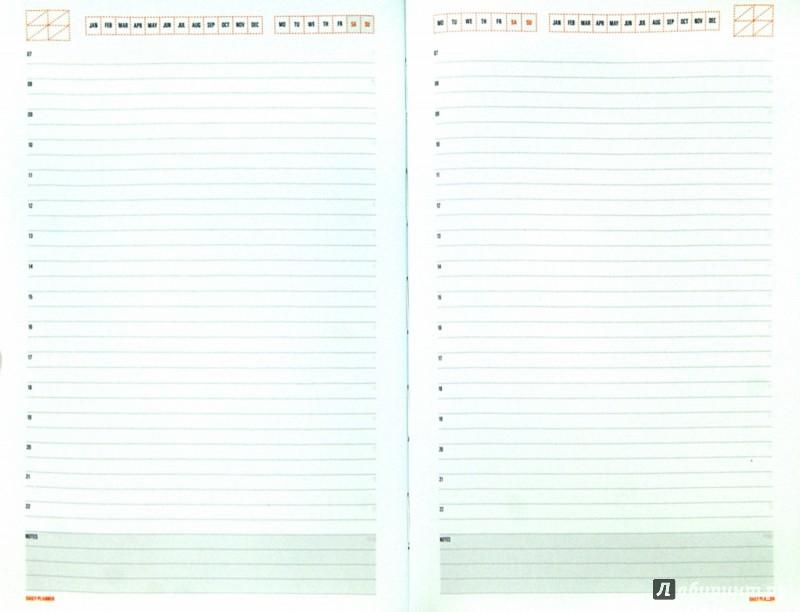 """Иллюстрация 1 из 6 для Ежедневник недатированный """"Mercury"""" (А5, оранжевый) (3-435/01)   Лабиринт - канцтовы. Источник: Лабиринт"""