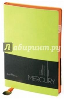 """Ежедневник недатированный """"Mercury"""" (А5, салатовый) (3-435/07) Bruno Visconti"""