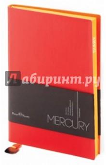 """Ежедневник недатированный """"Mercury"""" (А5, красный) (3-435/09) Bruno Visconti"""
