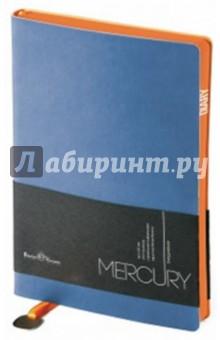 """Ежедневник недатированный """"Mercury"""" (А5, синий) (3-435/13)"""
