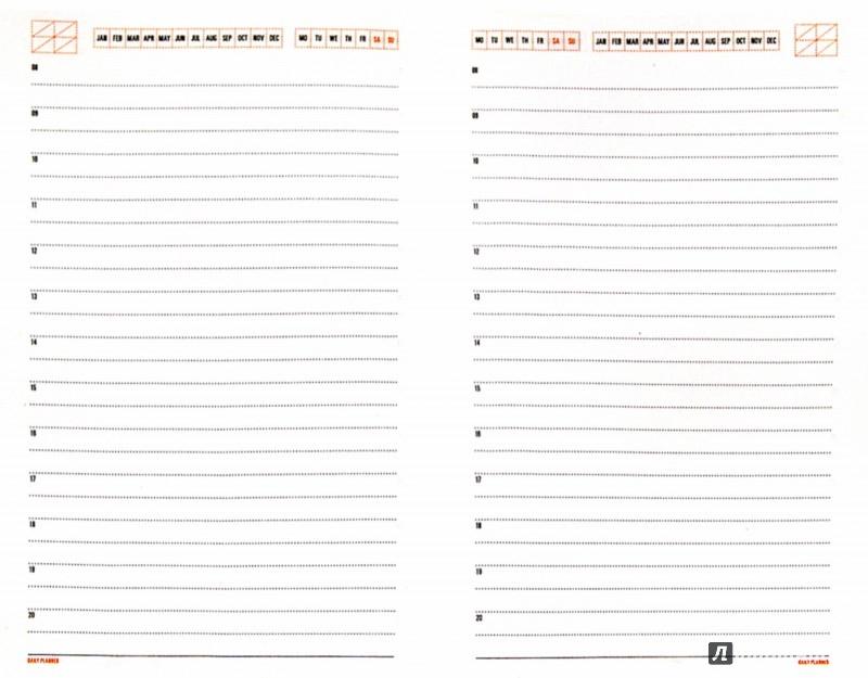 """Иллюстрация 1 из 7 для Ежедневник недатированный """"Mercury"""" (А6-, темно-синий) (3-451/04)   Лабиринт - канцтовы. Источник: Лабиринт"""