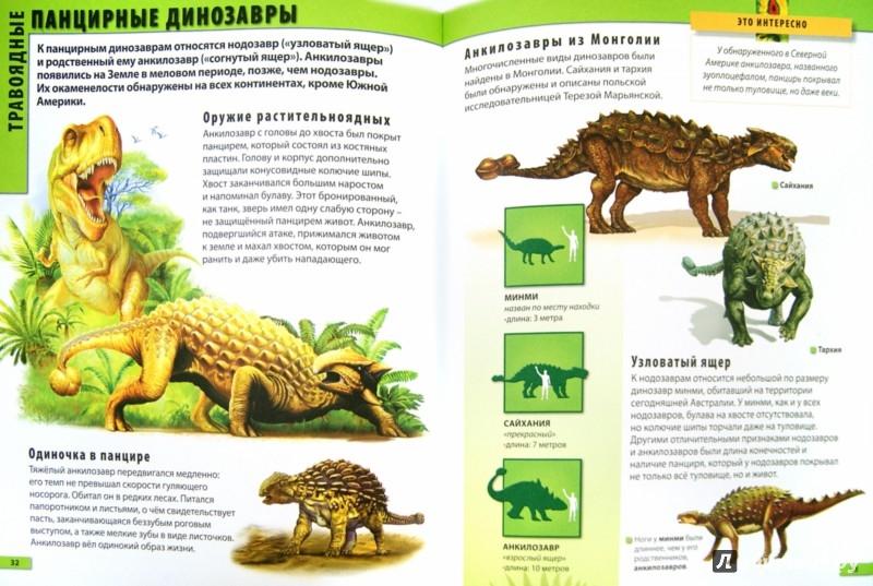 Иллюстрация 1 из 9 для Динозавры - Барбара Маевская | Лабиринт - книги. Источник: Лабиринт