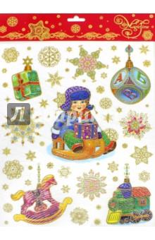 """Украшение новогоднее оконное """"Мальчик"""" (34328) Феникс-Презент"""