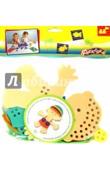 Шнуровка Мальчик (45322)Шнуровки из пластика и пластмассы<br>Шнуровка Мальчик.<br>Игрушка направлена на развитие у ребёнка памяти, воображения, фантазии, моторики, пространственного и логического мышления.<br>Обучение происходит в процессе игры.<br>Благодаря особой структуре материала и свойству прилипать к мокрой поверхности, является идеальной игрушкой для ванны. <br>Материал: пенополиэтилен.<br>Для детей от 3-х лет. Содержит мелкие детали.<br>Сделано в России.<br>