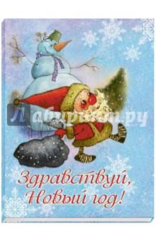 Набор открыток Здравствуй, Новый год! (12 открыток)Поздравительные открытки<br>Набор открыток.<br>Новый год - самый волшебный праздник на свете, и он уже стучится в наши двери!<br>Открытки из этого комплекта позволят поделиться радостью с близкими и подарить им маленькую частичку новогоднего чуда!<br>В наборе 12 открыток с иллюстрациями Виктории Кирдий.<br>