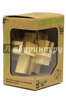 Головоломка из бамбука,ассортимент (Д388/МТ7214)