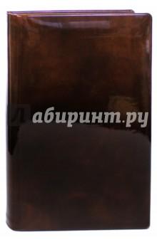 """Ежедневник полудатированный """"Premier"""" (А5+, коричневый) (3-023/296) Bruno Visconti"""