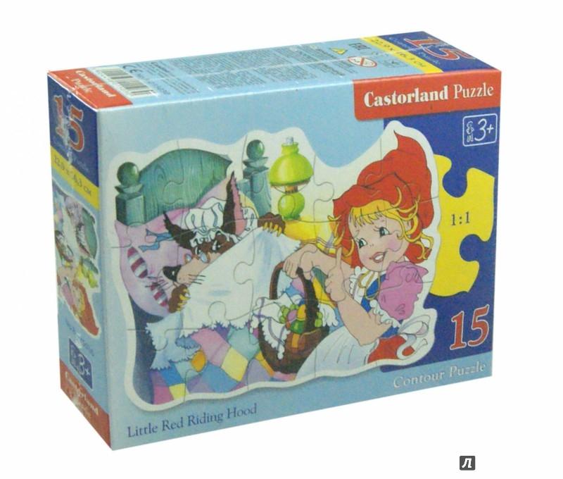 Иллюстрация 1 из 6 для Puzzle - 15. Красная Шапочка (B-015030) | Лабиринт - игрушки. Источник: Лабиринт
