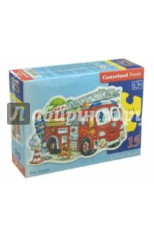 Puzzle - 15. Пожарная машина  (B-015078)