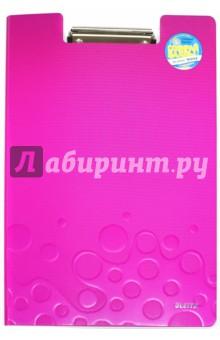 Папка-планшет с внутренним карманом (А4, розовая) (41990023)Папки с зажимами, планшеты<br>Папка-планшет высокого качества из полифома с полипропиленовым покрытием, выполненная в яркой цветовой гамме WOW, двуцветная.<br>Идеально подходит для надежного хранения документов.<br>Характеристики:<br>- Прочный металлический зажим надежно удерживает документы;<br>- Дополнительный карман для отдельных документов и записей;<br>Вместимость - 75 листов (80 г/м2).<br>Для бумаг формата А4.<br>Материал: полифом толщиной 2,8 мм.<br>Сделано в Китае.<br>