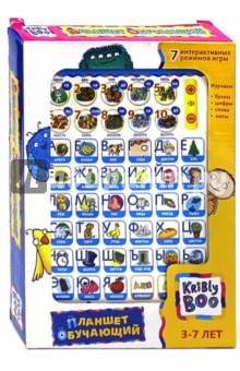 Игрушка интерактивная Планшет обучающий 8 (57348)Детские компьютеры<br>Что планшет развивает у наших детей?<br>Восприятие.<br>Внимательное изучение игрушки позволяет ребенку развивать свое восприятие, делать его более систематизированным и целенаправленным. У ребенка формируется психологическая готовность к школьному обучению, а режимы Тест и Математика в игре учат его сосредотачиваться на предложенных заданиях.       <br>Внимание.<br>Яркая и простая в обращении игрушка увлекает ребенка и учит его удерживать внимание на решении различных задач.<br>Память.<br>Новый материал, поданный в игровой форме, легко запоминается.<br>Для детей старше 3-х лет. Содержит мелкие детали.<br>Изготовлено из пластмассы.<br>Сделано в Китае.<br>
