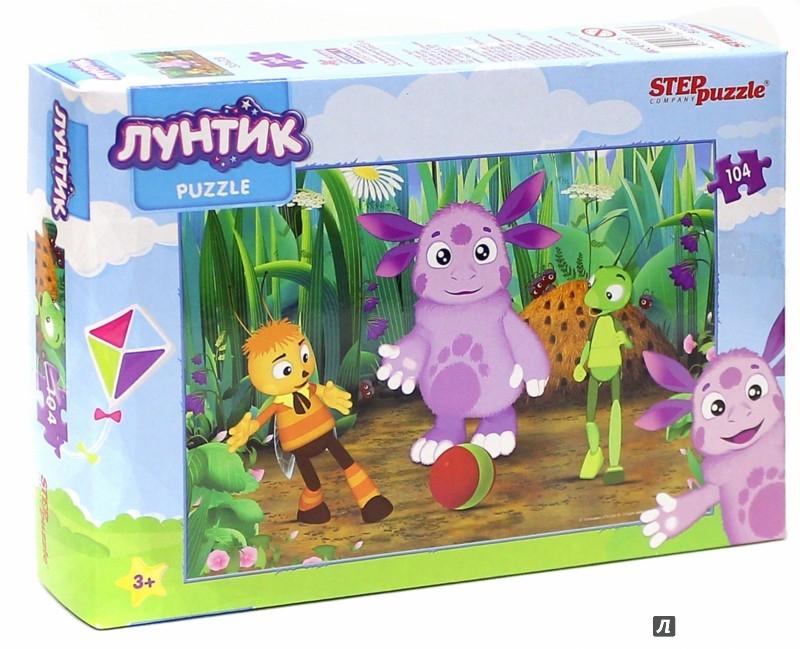 """Иллюстрация 1 из 5 для Step Puzzle-104 """"Лунтик"""" (82129)   Лабиринт - игрушки. Источник: Лабиринт"""