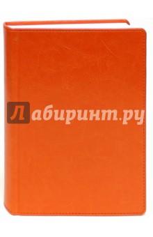 Ежедневник недатированный, Небраска, А6, оранжевый (799106264)Ежедневники недатированные и полудатированные А6<br>Ежедневник недатированный.<br>Размер 105х148 см<br>Внутренний блок: офсет <br>Линовка: линия.<br>Крепление: книжное (сшитый блок).<br>Интегральная обложка.<br>Цвет переплета: оранжевый.<br>Покрытие кожзам.<br>Перфорация уголков страниц,<br>Содержит справочный блок.<br>Сделано в Германии.<br>