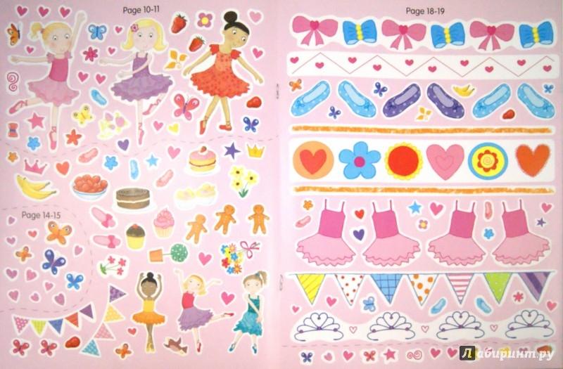 Иллюстрация 1 из 2 для My Pretty Pink Ballet. Activity and Sticker Book | Лабиринт - книги. Источник: Лабиринт